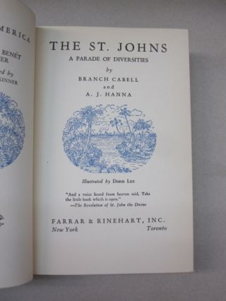 The St. Johns; A Parade of Diversities