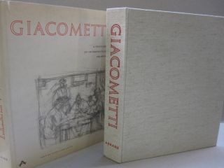 Giacometti; A Sketchbook of Interpretive Drawings. Luigi Carluccio