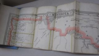 Cram's Township and Rail Road Map of Minnesota.