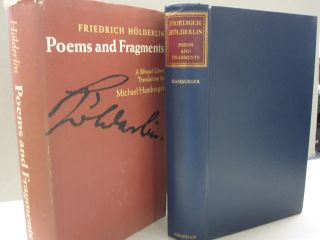 Poems and Fragments. Friedrich Hölderlin, a, Michael Hamburger