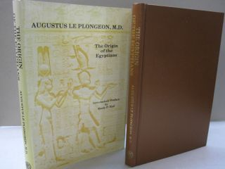 Origins of the Egyptians. Augustus Le Plongeon, Manly P. Hall, introduction