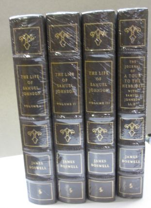 The Life of Samuel Johnson Including A Tour to the Herbides with Samuel Johnson 4 volume set....