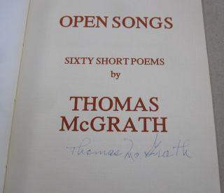Open Songs: Sixty Short Poems.