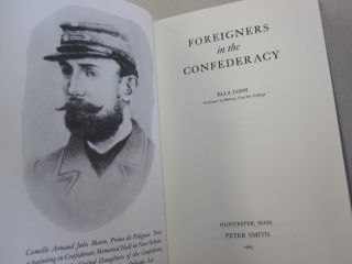 Foreigners in the Confederacy.