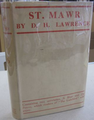 St. Mawr. D. H. Lawrence