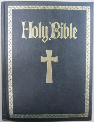 Holy Bible; Containing Both the Old and New Testaments RED LETTER EDITION. Catholic Biblical...