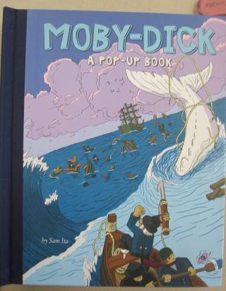 Moby-Dick A Pop-Up Book. Sam Ita