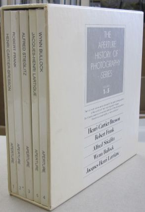 The Aperture History of Photography Series; Henri Cartier-Bresson, Robert Frank, Alfred...