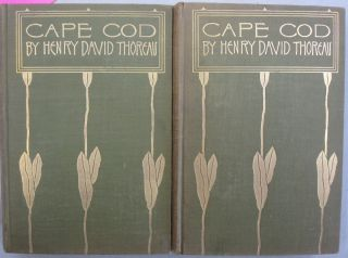 Cape Cod. Henry David Thoreau