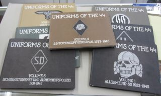 Uniforms of the SS 7 Volume set. Andrew Mollo, Hugh Page Taylor, vol 3 intro