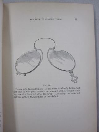 Spectacles; and How to CHoose Them.