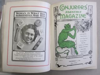 The Conjurers' Monthly Magazine Volume 1, Issues 1-12 September 15, 1906 - August 15, 1907. Harry...