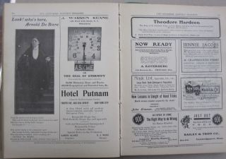 The Conjurers' Monthly Magazine Volume 1, Issues 1-12 September 15, 1906 - August 15, 1907.