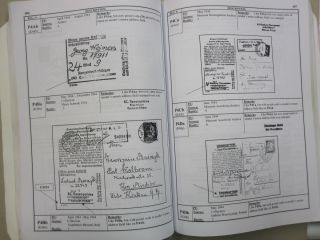 German Concentration Camps 1933 - 1945 History, related philatelic material and system of registration of inmate mail Volume II: Prisoner Mail Objects to Collect and Handobok of Registered Objects Part II: Camps L-Z.