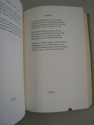 Complete Poems of Robert Frost 1949.