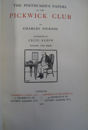 The Posthumous Papers of the Pickwick Club 2 volume set.