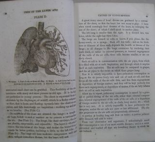Six Lectures on the Functions of the Lungs, and Causes, Prevention, and cure of Pulmonary Consumption, Asthma, and Diseases of the Heart: On the Laws of Life and on the Mode of Perserving Male and Female Health to An Hundred Years Also a Treatise on Medicated Inhalation.