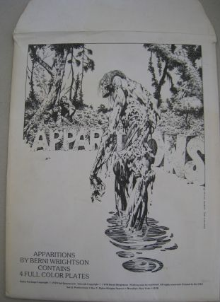 Apparitions 4 Full Color Plates.