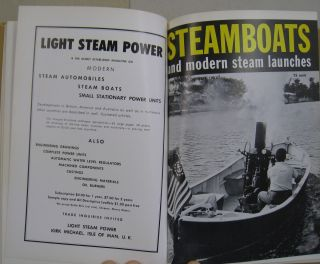 STEAMBOATS and Modern Steam Launches; Volume 1 , Number 1