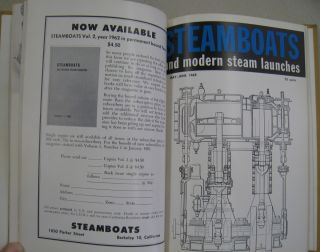 STEAMBOATS and modern steam launches; Volume 3