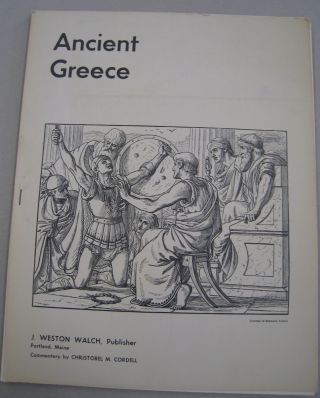 Ancient Greece [Posters]. Christobel M. Cordell