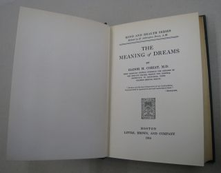 The Meaning of Dreams.