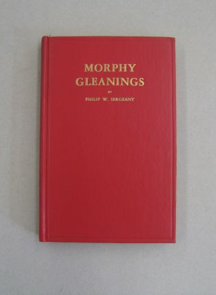 Morphy Gleanings. Philip W. Sergeant