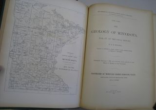 The Geological and Natural History Survey of Minnesota 1896-1898 The Geology of Minnesota Vol. IV of the Final Report.