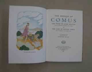 The Masque of Comus & The Airs by Henry Laws.