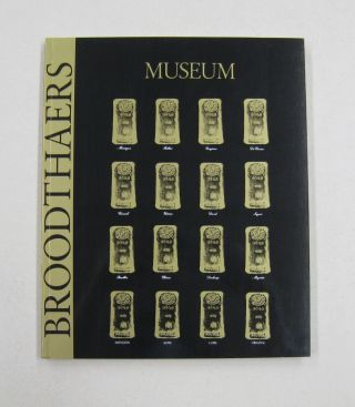 Marcel Broodthaers Catalogue of the Editions Prints and Books. Marcel, Norbert Nobis, Werner...