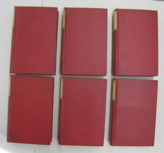 The Plays of Moliere in 6 volumes Auteuil Edition.
