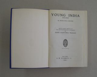 Young India 1919-1922; With a Brief Sketch of the Non-Co-Operation Movement by Babu Rajendra Prasad