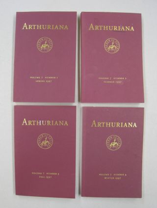 ARTHURIANA; Volume 7. Number 1, Number 2, Number 3, and Number 4. Bonnie Wheeler