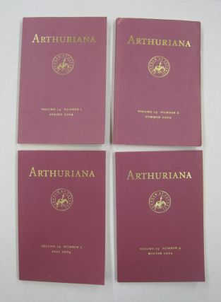 ARTHURIANA; Volume 14, Four issues. Bonnie Wheeler
