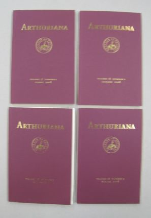 ARTHURIANA; Volume 18. Spring, Summer, Fall and Winter. Kristin Burr Bonnie Wheeler, Morris Lacy,...