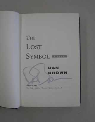 The Lost Symbol [SIGNED].