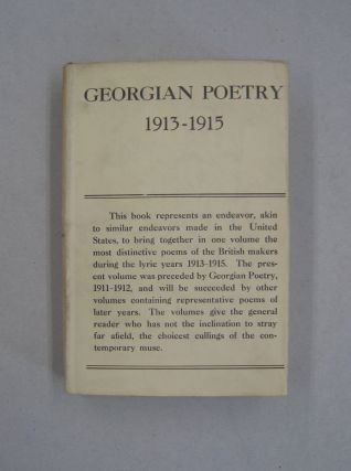 Georgian Poetry 1913-1915