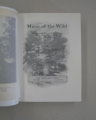 Music of the Wild; With Reproductions of the Performs, Their Instruments and Festival Halls
