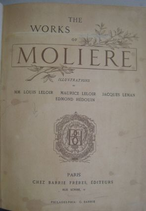 The Works of Moliere.