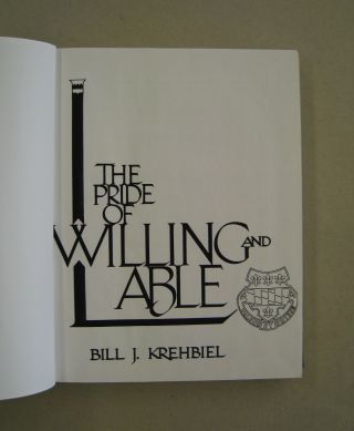 L: The Pride of Willing and Able; A Chronology of Company L Third Battalion 319th Infantry 80th Infantry Division