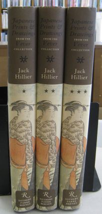 Japanese Prints and Drawings from the Vever Collection; Three volume set. Jack Hillier