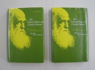 Collected Papers: v. 1 & 2. Charles Darwin