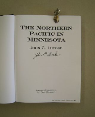 The Northern Pacific in Minnesota.