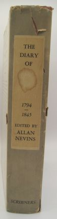 The Diary of John Quincy Adams 1794-1845; American Diplomacy, and Political, Social, and Intellectual Life, from Washington to Polk