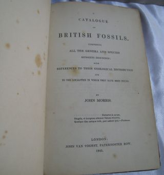 A Catalogue of British Fossils; Comprising all the Genera and Species Hitherto Described with References to their Geological Distribution and to the Localities in which they have been found.
